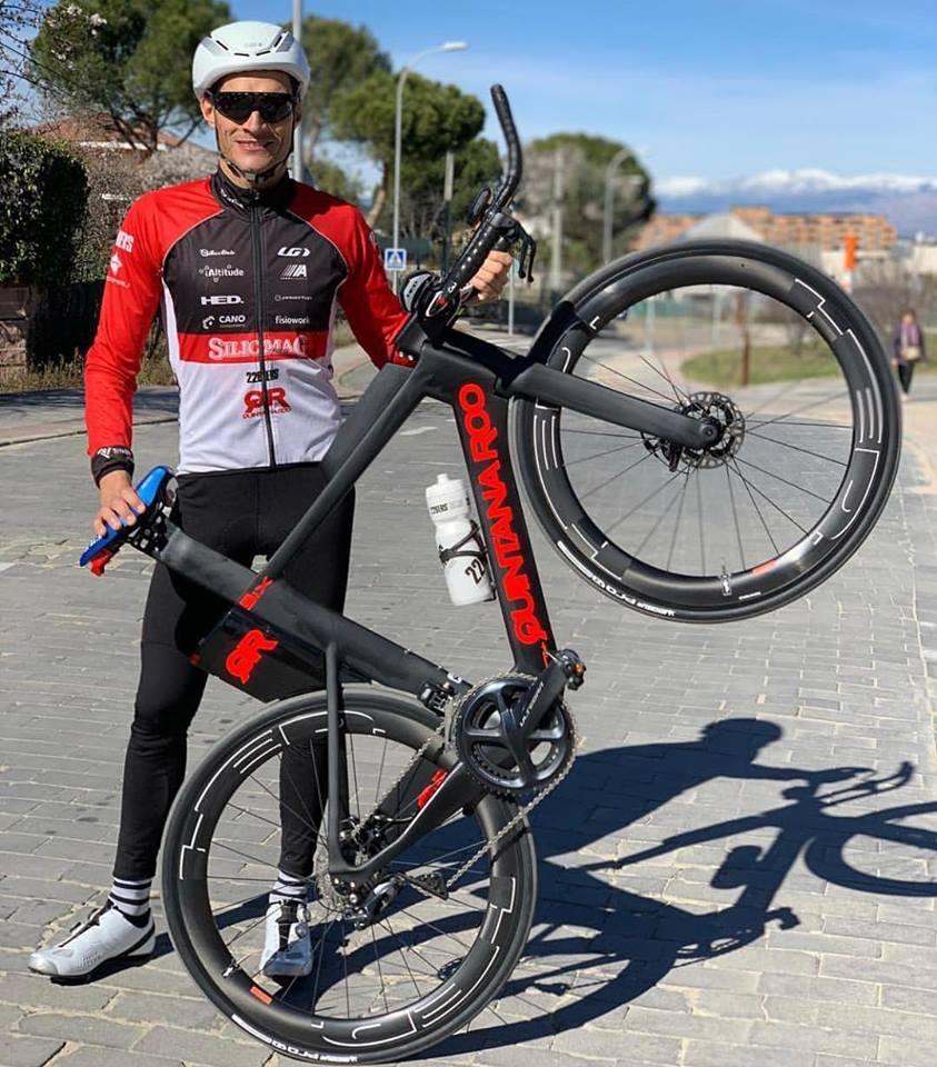Ivan Alvarez y su nueva Quintana Roo PRSix Disc de Trifanatics